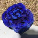 Медная синь - азурит: магические и целебные свойства камня, кому можно носить, как выглядит
